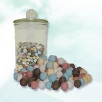 五色能量礦物瓷珠